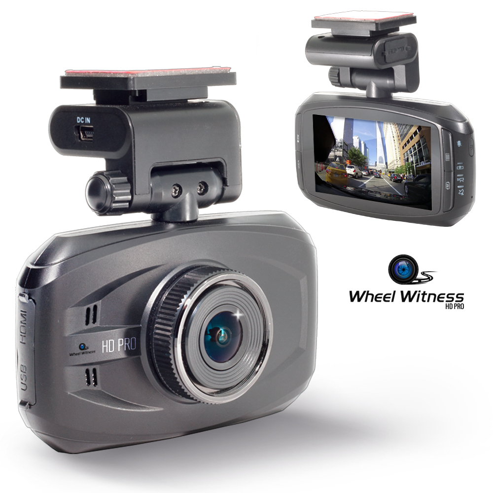 WheelWitness HD PRO Dash Cam with GPS - 2K Super HD - 170° Lens ...